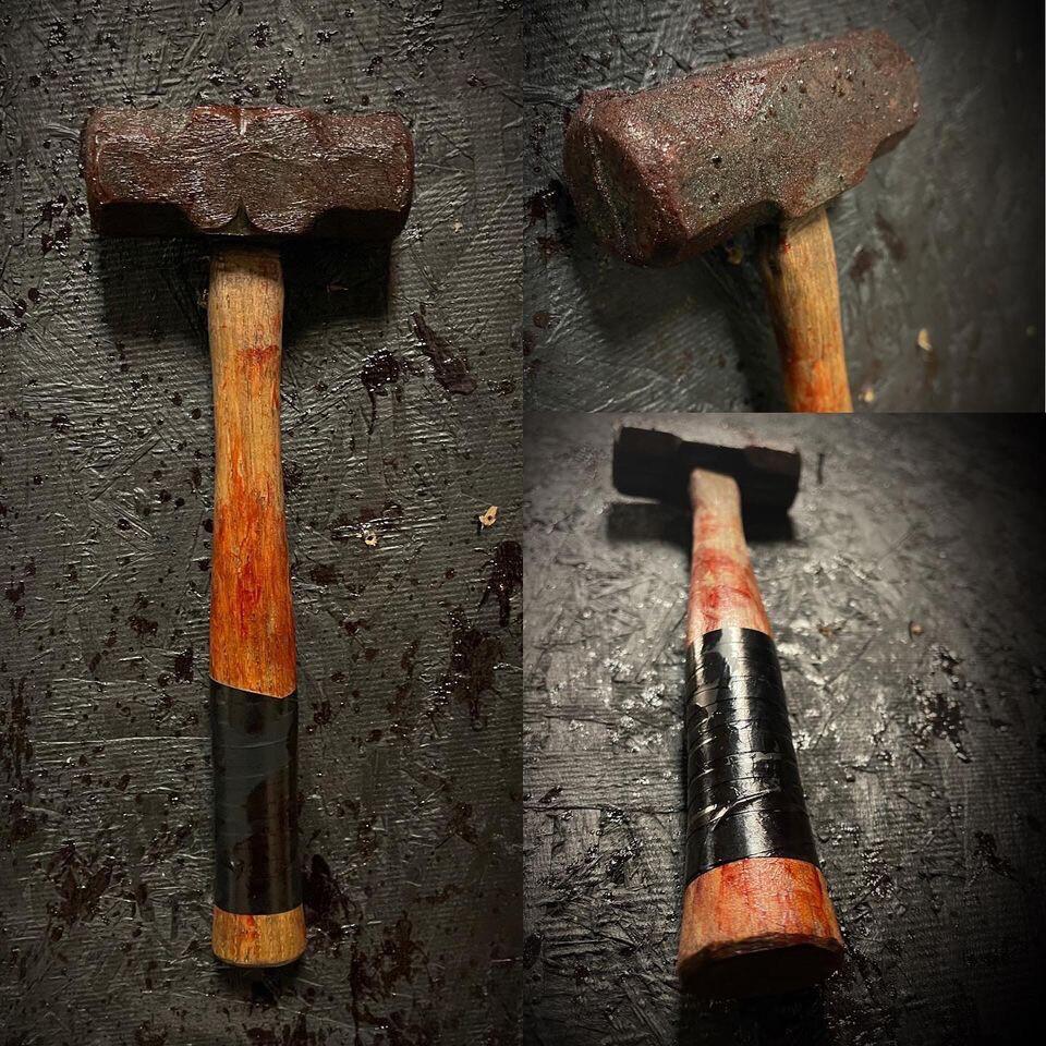 Mini Sledge Hammer Prop