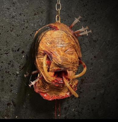 Agony Asylum Head