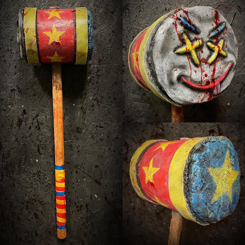 Large Clown Mallet Prop