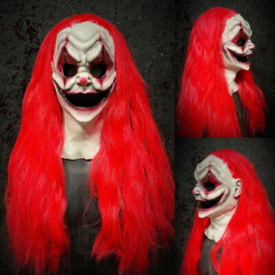 Female Grin Clown Mask
