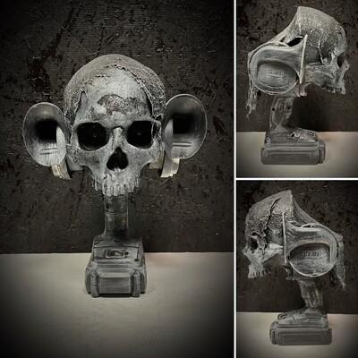 Handheld Death Horn