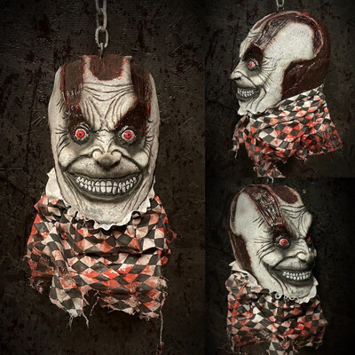 Decapitated Flayed Clown Head
