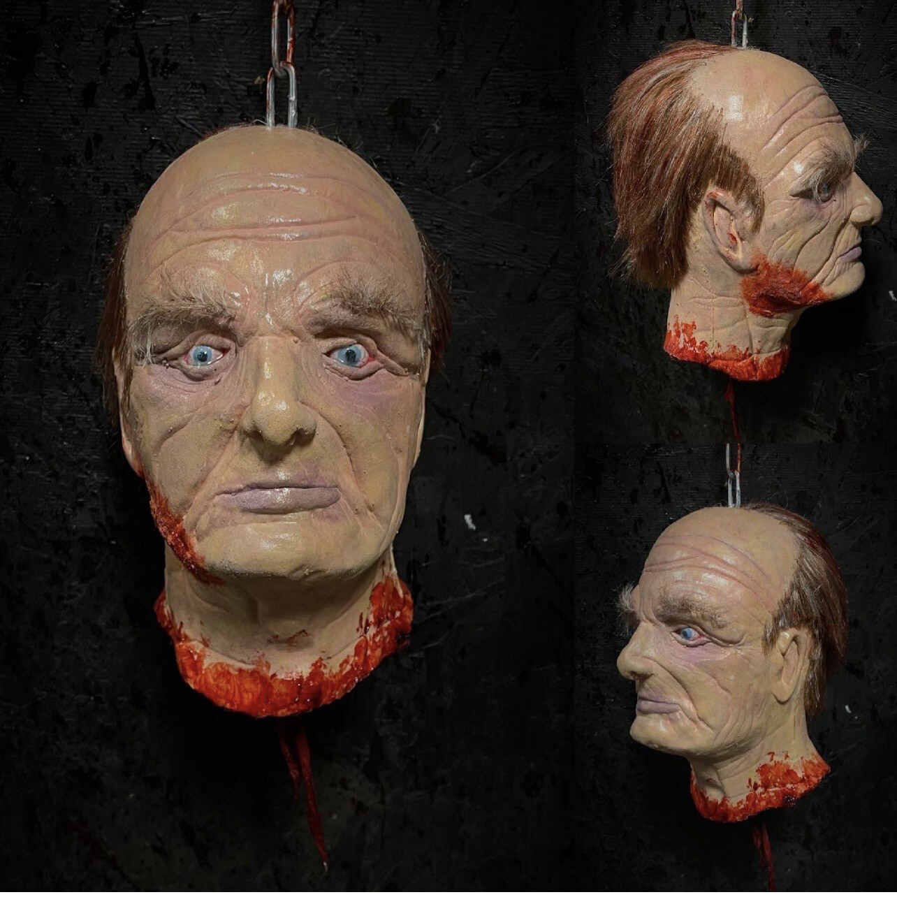 Decapitated Old Man Head