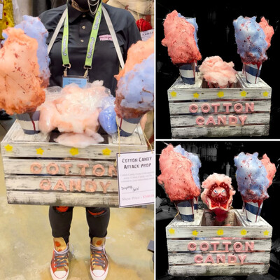 Cotton Candy Box Attack Prop