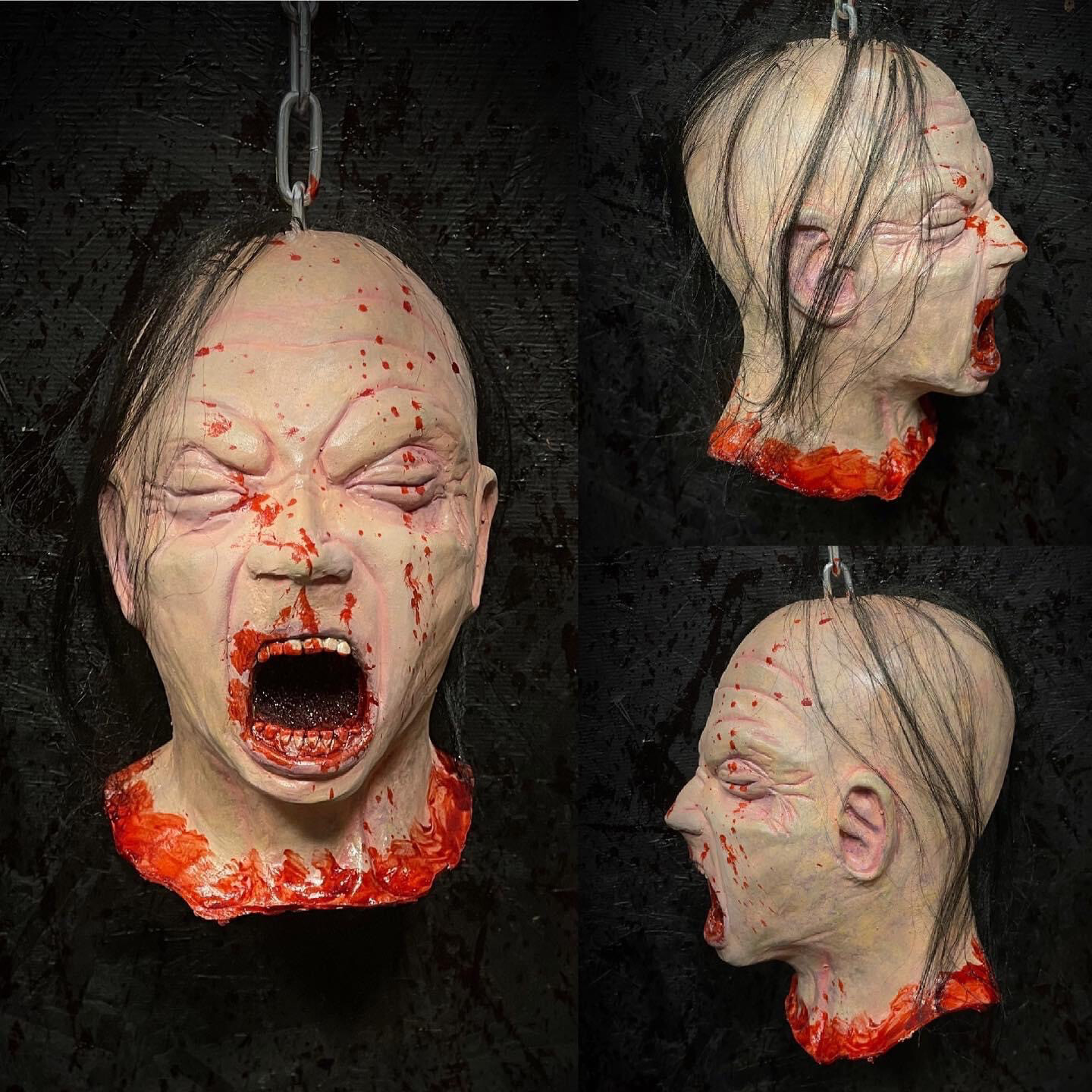 Decapitated Cry Baby Head