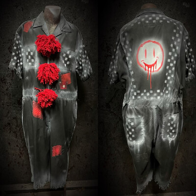 NightMare Clown Jumpsuit
