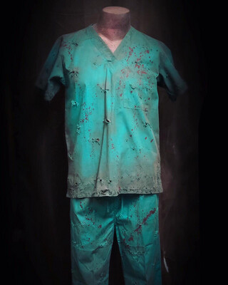 Scrub Top Only - Small