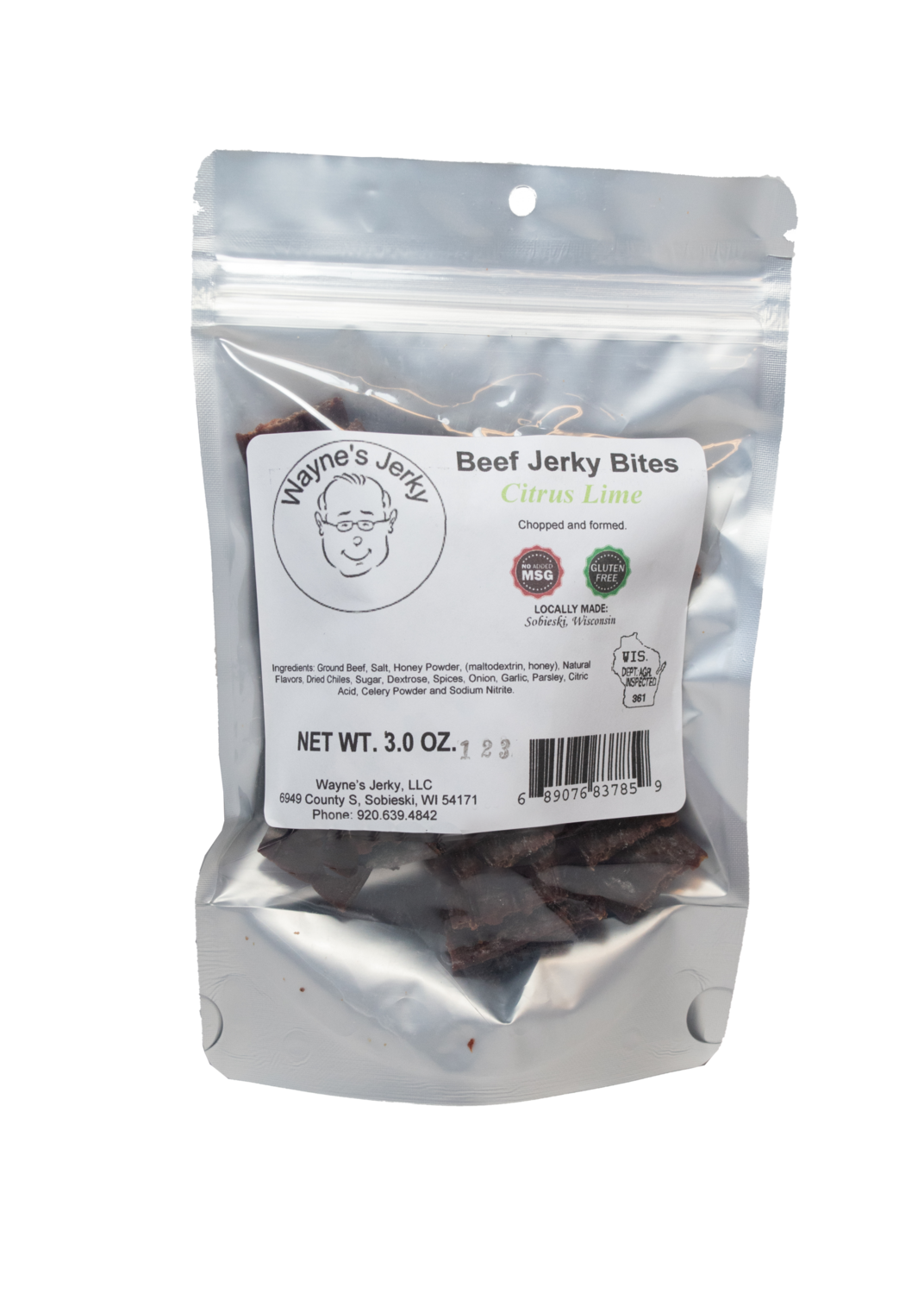 Citrus Lime Beef Jerky