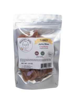 Cranberry Turkey Jerky