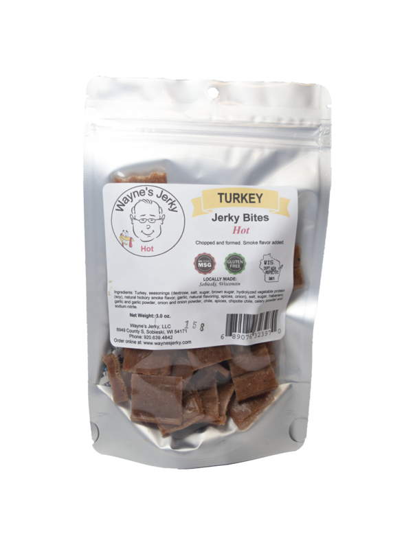 Hot Turkey Jerky