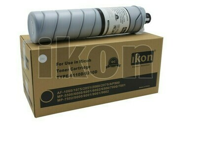 Black Toner for Ricoh AFICIO 1060, 1075, 2051, 2060, 2075, AP900, MP5500, 6000, 6001, 6002