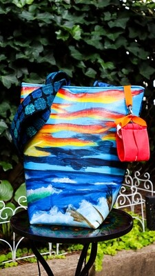 Sunset Wellness Tote