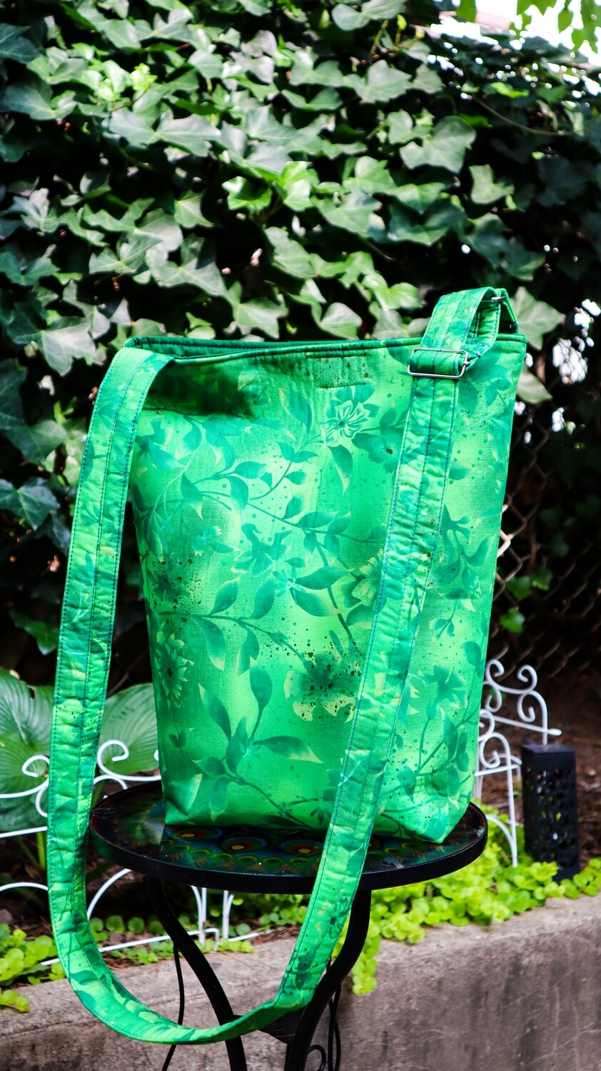 Bright Green Branches Basic Cross Body Adjustable