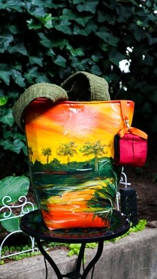 Tropical Desert Wellness Tote