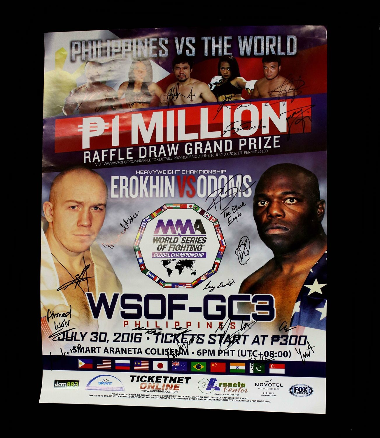 World Series of Fighting Global Championship 3