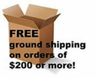 Free Shipping & Handling  (over $200)