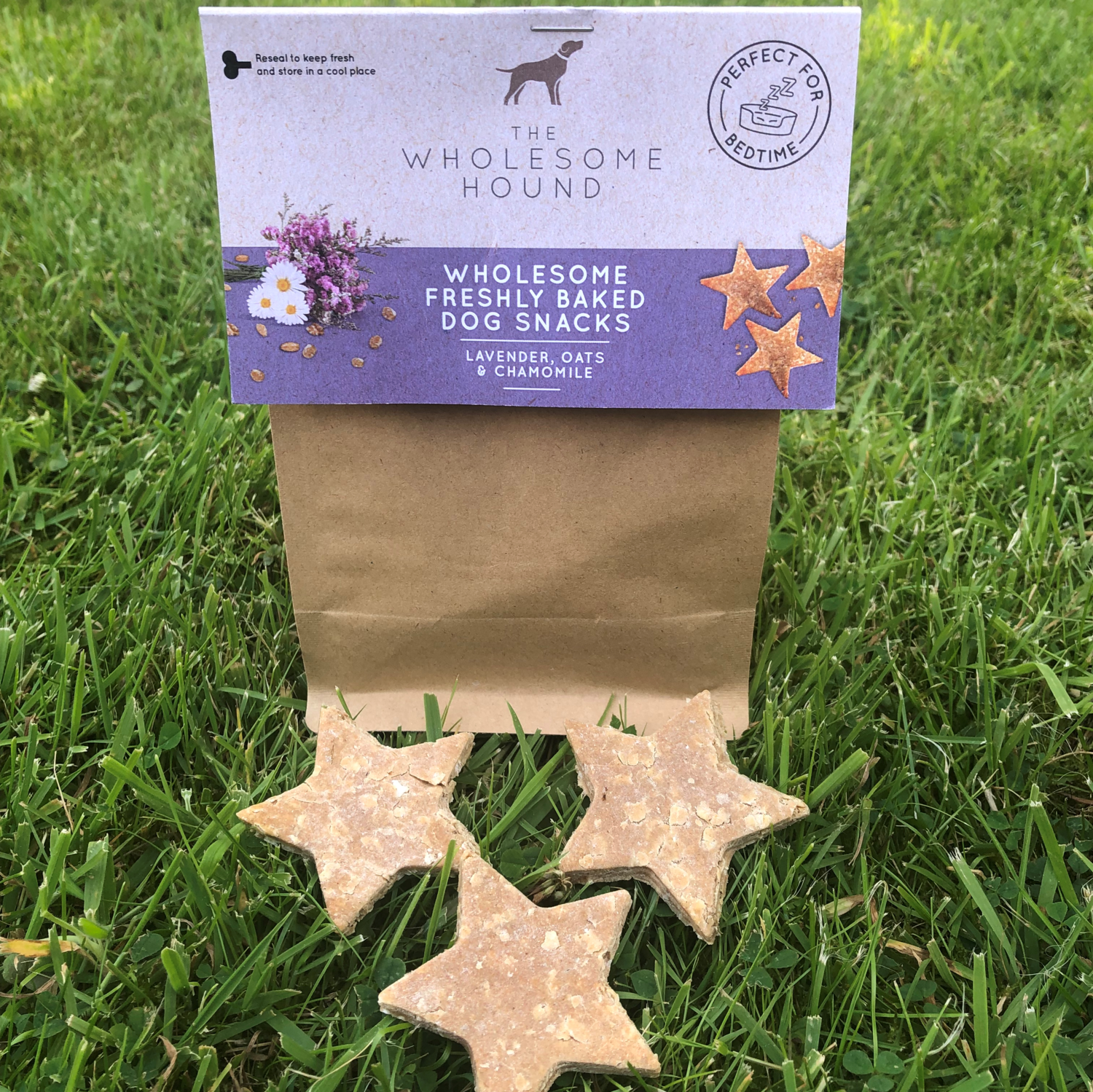 Lavender and Chamomile Wholesome Dog Snacks
