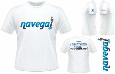 Camisa Navegaí + Adesivo