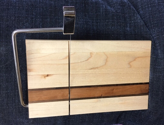 Maple/Cherry/Walnut Cheese Slicer (#CS-6)