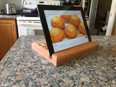 Tablet Stand (Cherry)