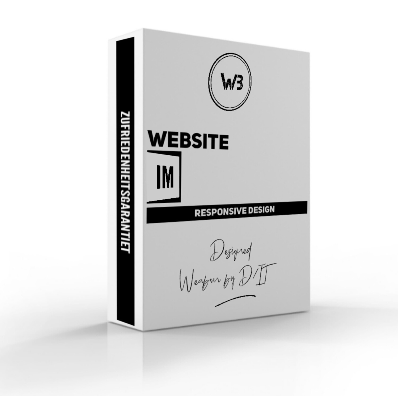 Website im Responsive Design