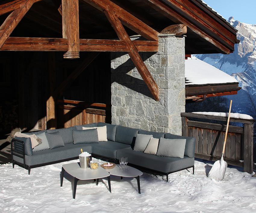 LUSIT Лусит мебель из алюминия и влагостойкой ткани Royal Botania Бельгия