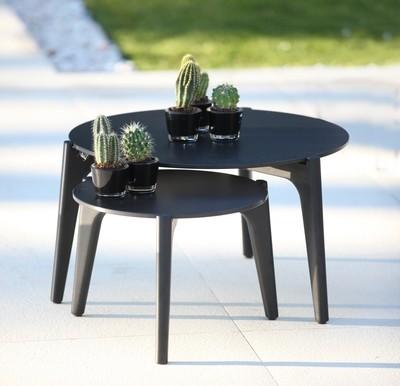 TEA TIME Ти Тайм мебель из алюминия и тика Royal Botania Бельгия