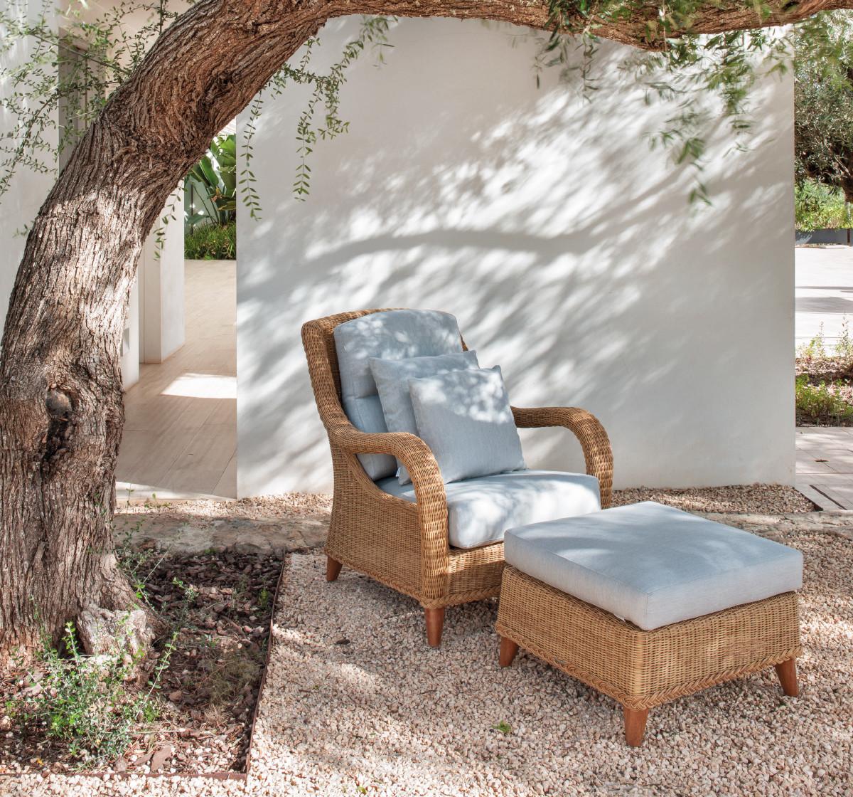 KENYA Кения плетеная мебель из искусственного ротанга Point Испания
