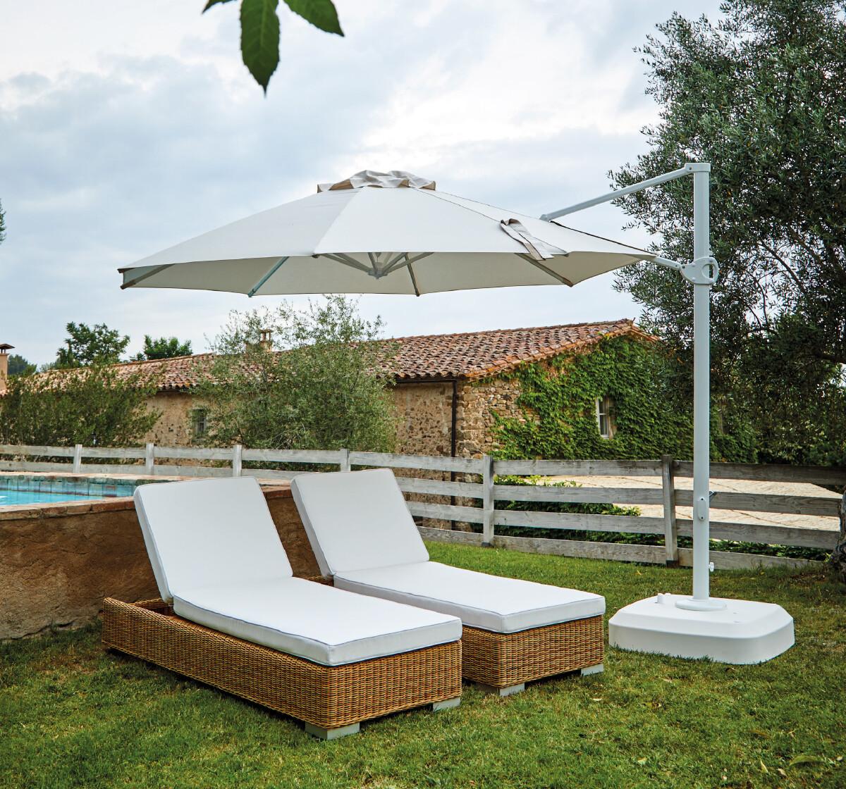 ROMA Зонт на боковой стойке 330см