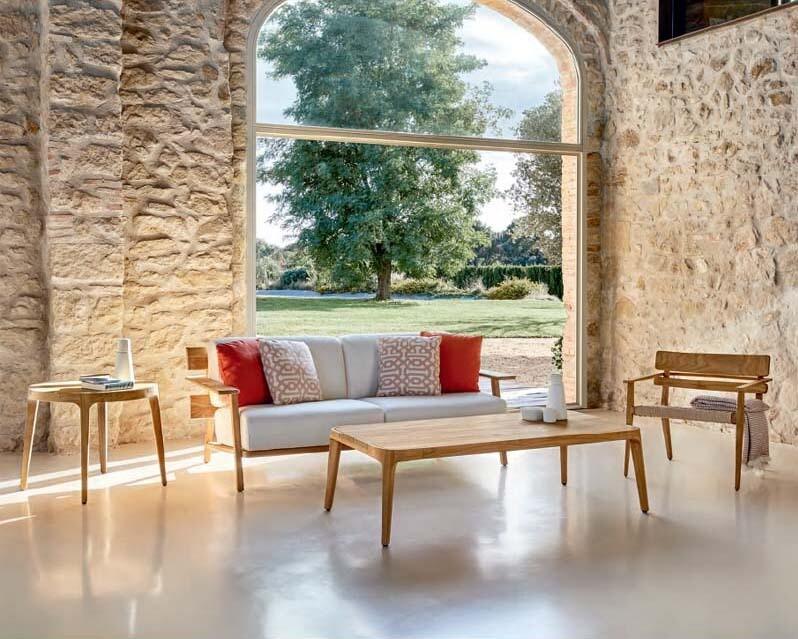PARALEL Паралель мебель из тика Point Испания