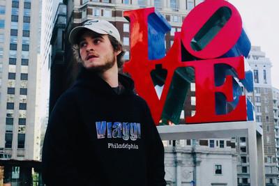 Viaggi Philadelphia Black Hoodie
