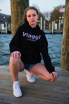 Viaggi Annapolis Black Hoodie
