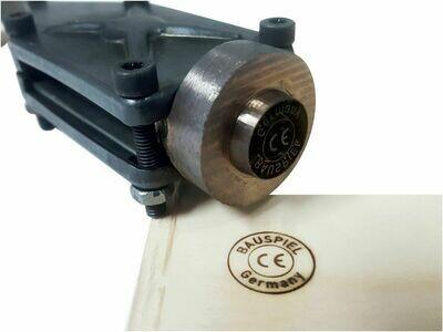 Brennstempel ALK T0 25 mm rund inkl. Gravur