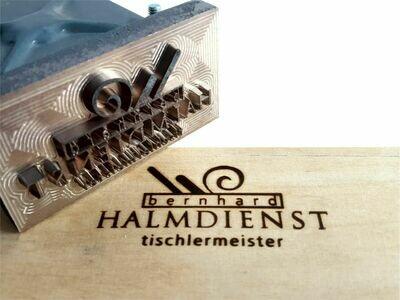 Brennstempel ALK T4 70x35 mm inkl. Gravur