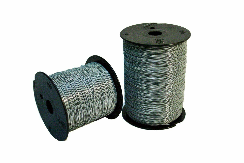 Plombendraht Eisen verzinkt - 0.25 x 0.25 mm