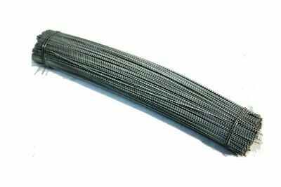 Geschnittener Plombendraht - Perlon/Eisen verzinkt 0.5 x 0.3 mm