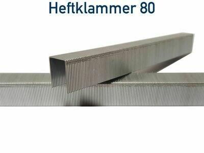 10.000 Heftklammer 80/10 V2A Edelstahl