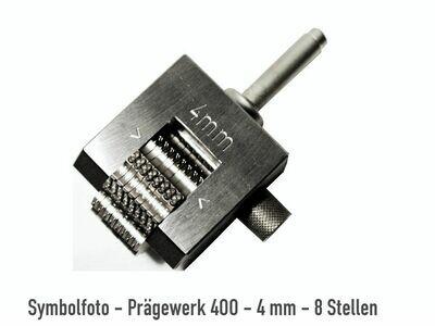 Prägewerk Mod. 400