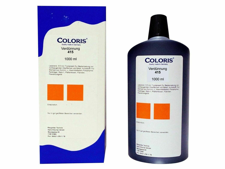 Coloris Verdünnung 415