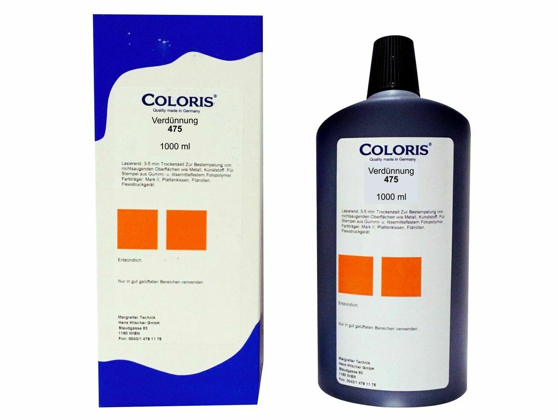 Coloris Verdünnung 475