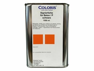 Coloris Stempelfarbe Beton - 1000 ml