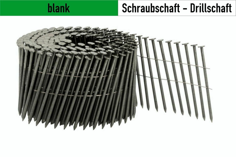 4.000 Drillnägel 16° drahtgebunden 3,1 x 90 mm blank