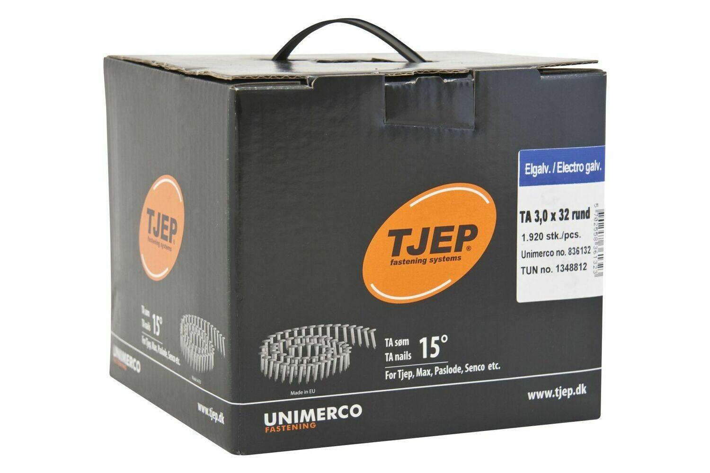 1.920 Dachpappnägel TA 30/32 - 32 mm Länge - verzinkt