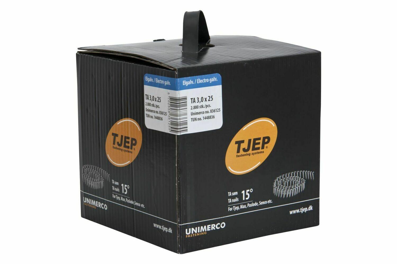 2.880 Dachpappnägel TA 30/25 - 25 mm Länge - verzinkt