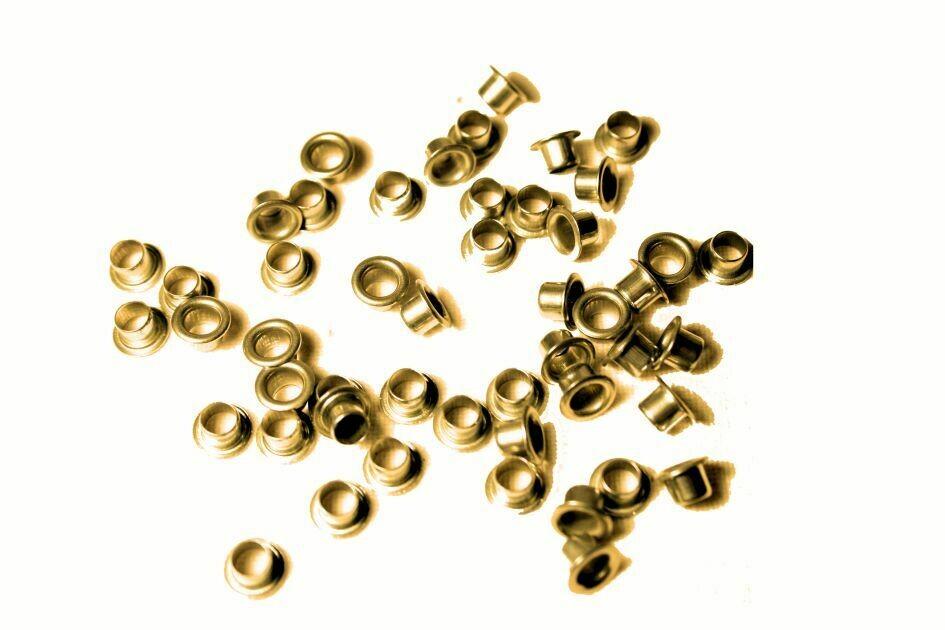 1000 Ösen 4 mm Durchmesser - 3.2 mm Länge