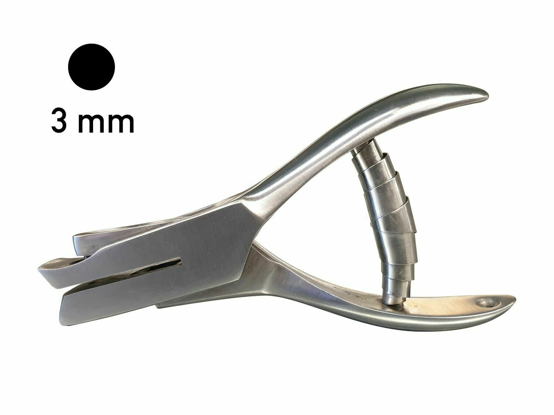 Lochzange 25 3 mm Rundloch
