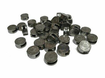 Bleiplomben 12 mm - 500 Stück