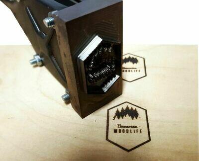 Brennstempel ALK T0 30x16 mm inkl. Gravur