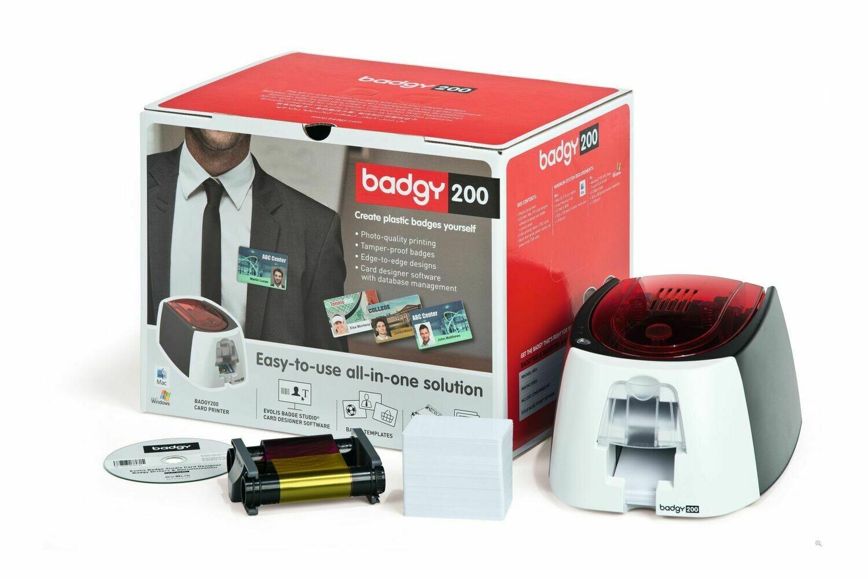 Kartendrucker Evolis Badgy 200