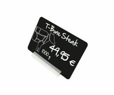Kartenhalter - Schilderständer transparent
